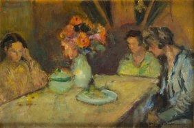 Stefan Filipkiewicz (1879 - 1944), Artist's Daughters