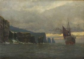 Michael Zeno Diemer (1867 - 1939), Steamer Next To The