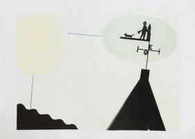 """Stefan Ficner (b. 1952) """"wiatrowskaz Z Turenii"""", 2002,"""