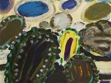 "Tadeusz Dominik (1928 - 2014) ""Garden"", 1968; oil on"