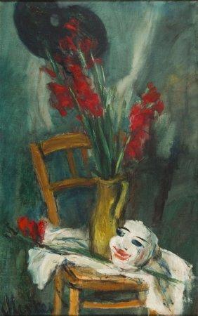 "Zygmunt Jozef Menkes (1896 - 1986), ""gladiolus And"