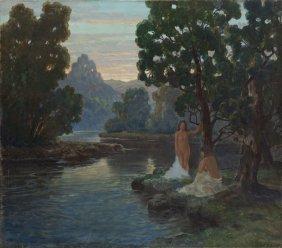 Konstanty Mackiewicz (1894 - 1985), The Bathers On