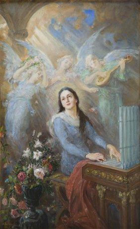 Stanislaw Kaczor-batowski (1866 - 1946), St. Cecilia
