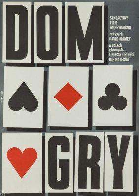 Jakub Erol (b. 1941) House Of Games, 1988; Offset On