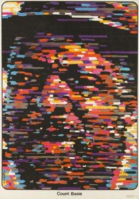 Waldemar Swierzy (1931 - 2013) Count Basie, Jazz