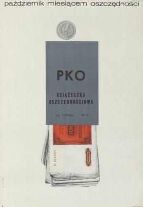 Bronislaw Zelek (b. 1935) Polish Savings Bank Savings