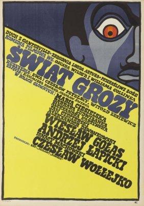 Andrzej Krajewski (b. 1933) World Of Horror, 1968;