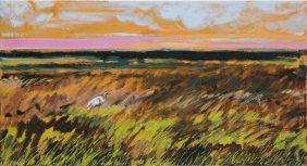 Magdalena Szilke (b. 1983), Landscape, 2016, Oil On