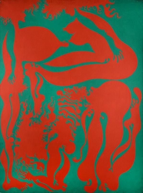 """Jan Dobkowski (b. 1942) """"Unnecessary Nod"""", 1972;"""