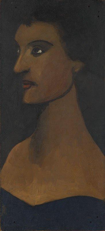Jerzy Nowosielski (1923 - 2011) A Portrait Of Artist's