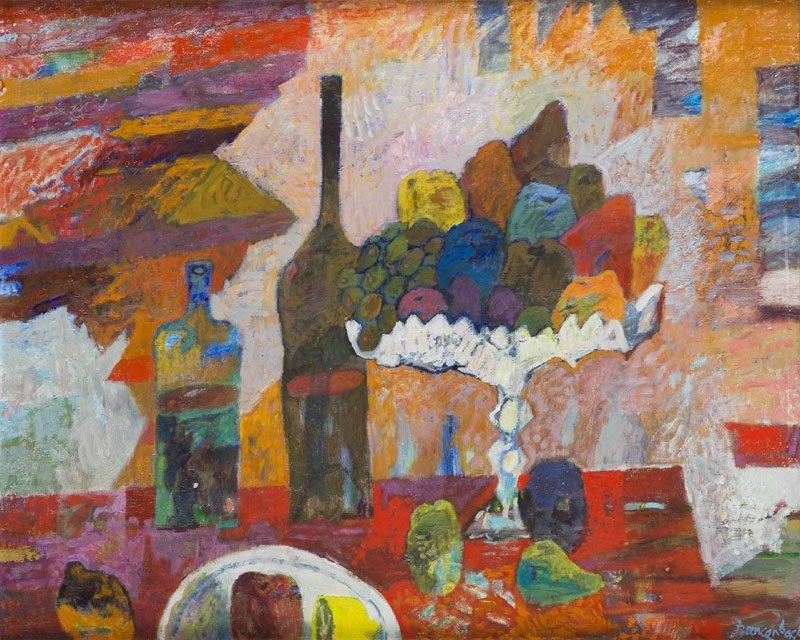 "Jan Szancenbach (1928 - 1998) ""Still Life"", 1983; oil"
