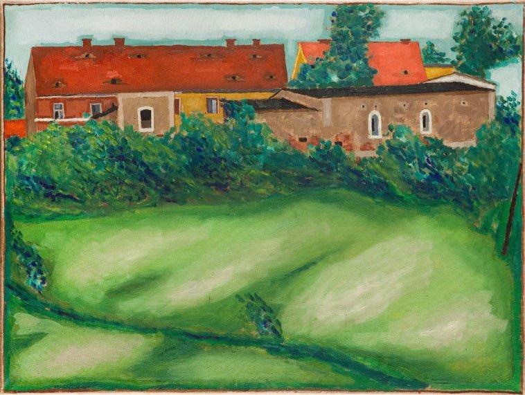 Jerzy Nowosielski (1923 - 2011) Landscape From