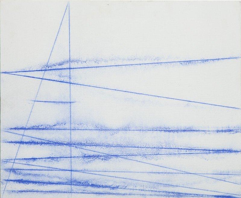 """Wlodzimierz Pawlak (b. 1957) """"Coloured Line V"""", 2013;"""