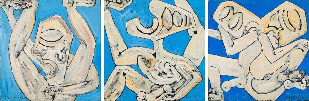 "Pawel Szanajca (b. 1962) ""And The Nights Like Diamonds"""