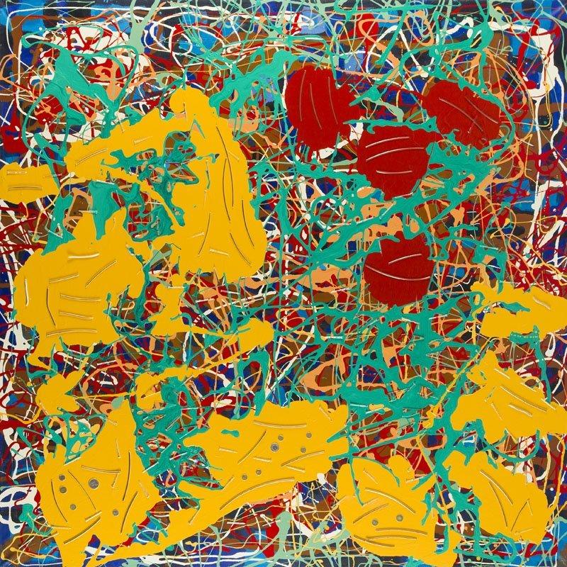 "Edward Dwurnik (b. 1943) ""A Painting no 32"", 2000;"