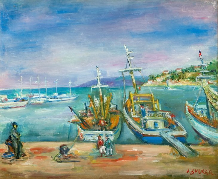 Jakub Zucker (1900 - 1981), Boats in the San Stefano