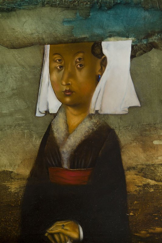 Yakov Feldman, (b. 1969), Portrait of a Woman, 1997 oil - 5