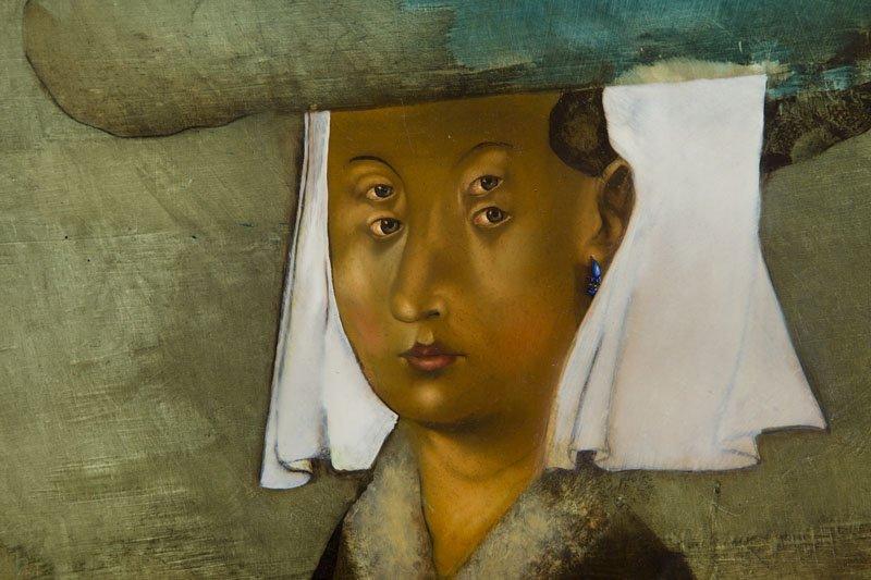 Yakov Feldman, (b. 1969), Portrait of a Woman, 1997 oil - 6