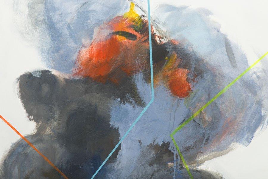 Joanna Sikorska, (b. 1987), Explosion, 2013, acrylic on - 4