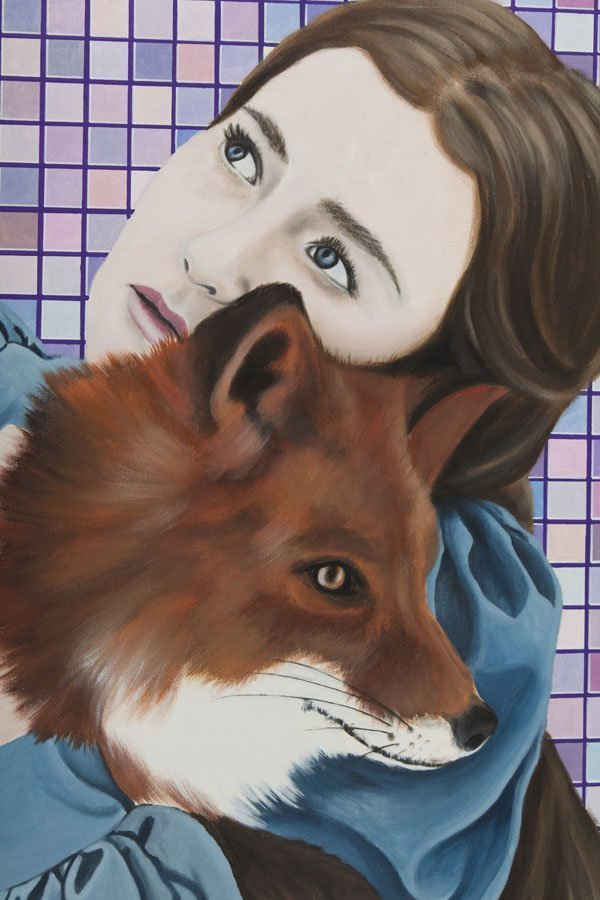 Karolina Fox, (b. 1988), Foxy Lady 2, 2016, acrylic on - 3