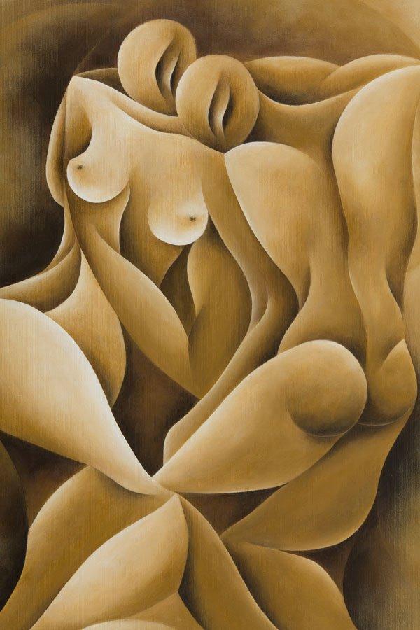 Ewa Witkowska, (b. 1985), Untitled, 2016, acrylic on - 3