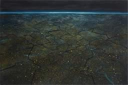 Juliusz Kosin, (b. 1989), Coating III, 2014, oil on