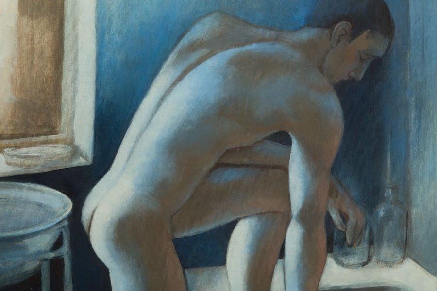 Juliusz Lewandowski, (b. 1977), Male nude in the - 4