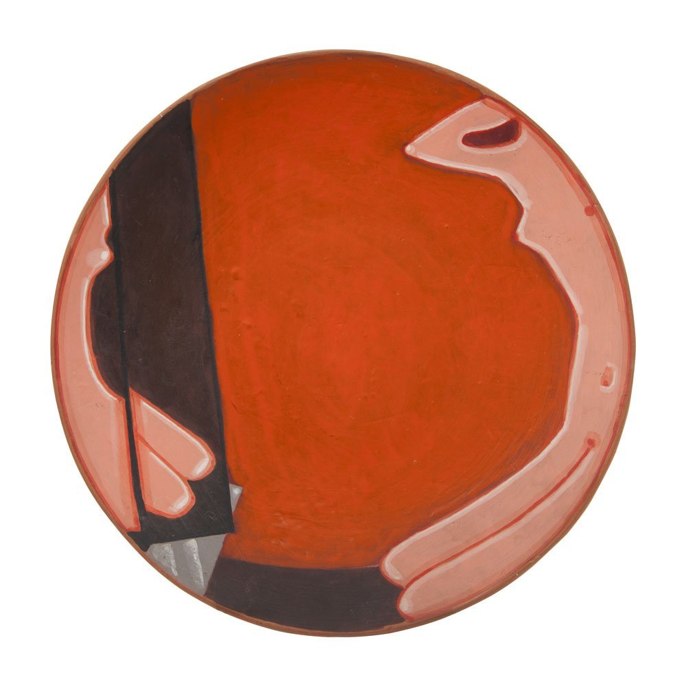 Jerzy Nowosielski (1923 - 2011), Rose Nude, 1973, oil