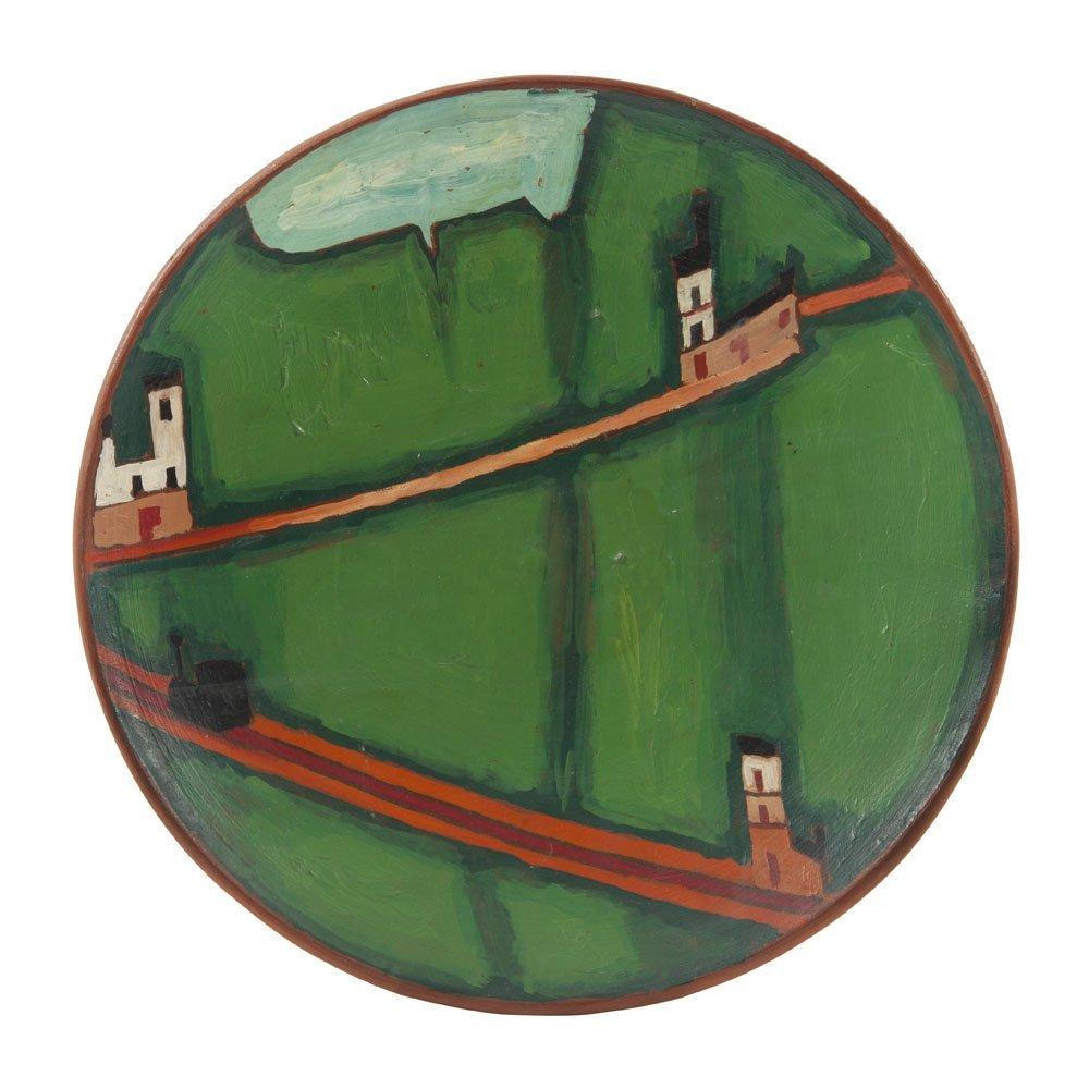 Jerzy Nowosielski (1923 - 2011) Landscape, 1973, oil on