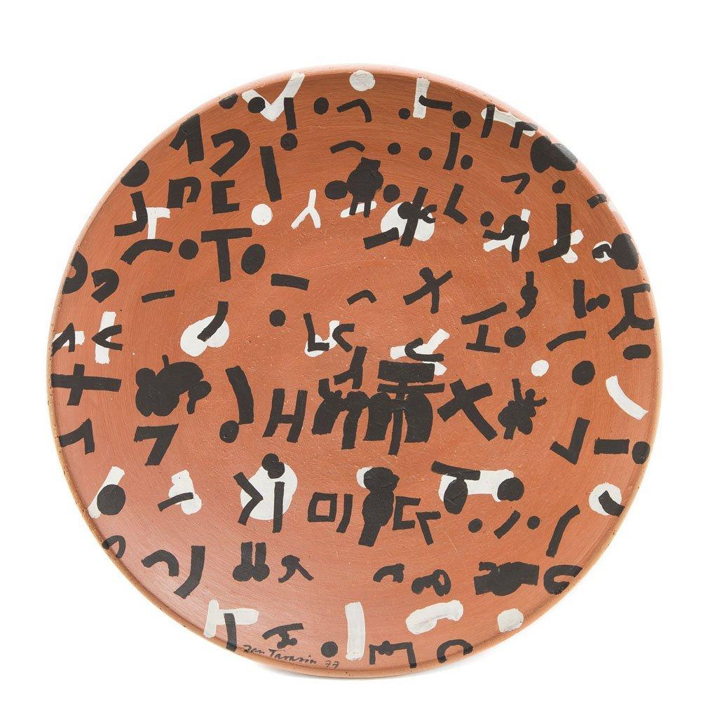 Jan Tarasin (1926 - 2009) Composition, 1977, oil on