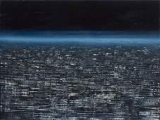 Juliusz Kosin, (b. 1989), Agglomeration XXVI, 2014, oil