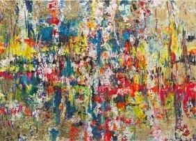 Ewelina Ulanecka (b. 1983) Ambient, 2017, mixed media
