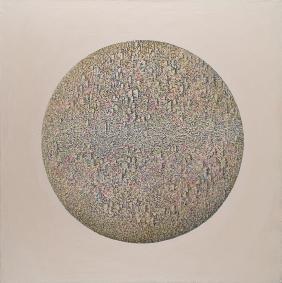 Grzegorz Klimek (b. 1987) Unknow planet, 2016, mixed