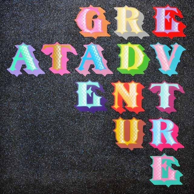4: Ben Eine, Great Adventures, 2011