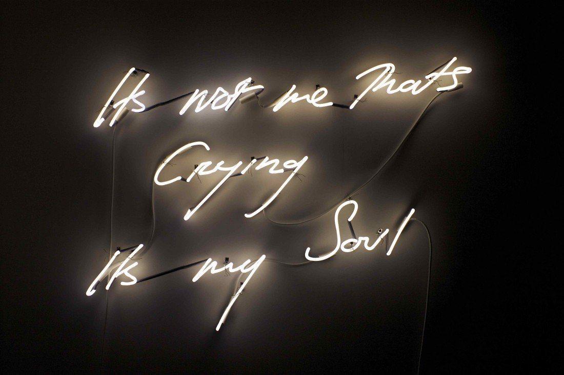 8: Tracey Emin, Its not me Thats Crying Its my Soul, 20