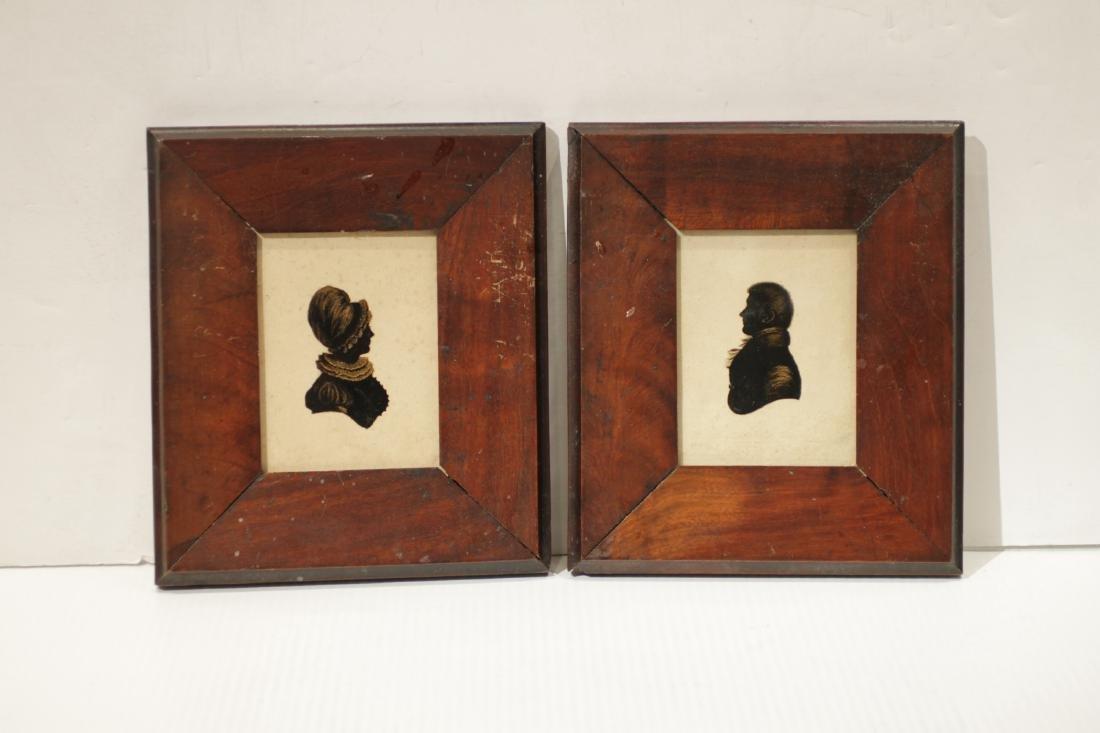 Pair of European Painting w/ Frame