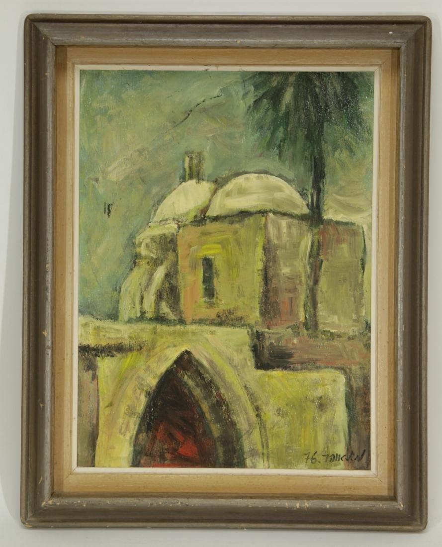 """Oil on Board by """"Mila Laufer"""" Isrealic School, 197"""