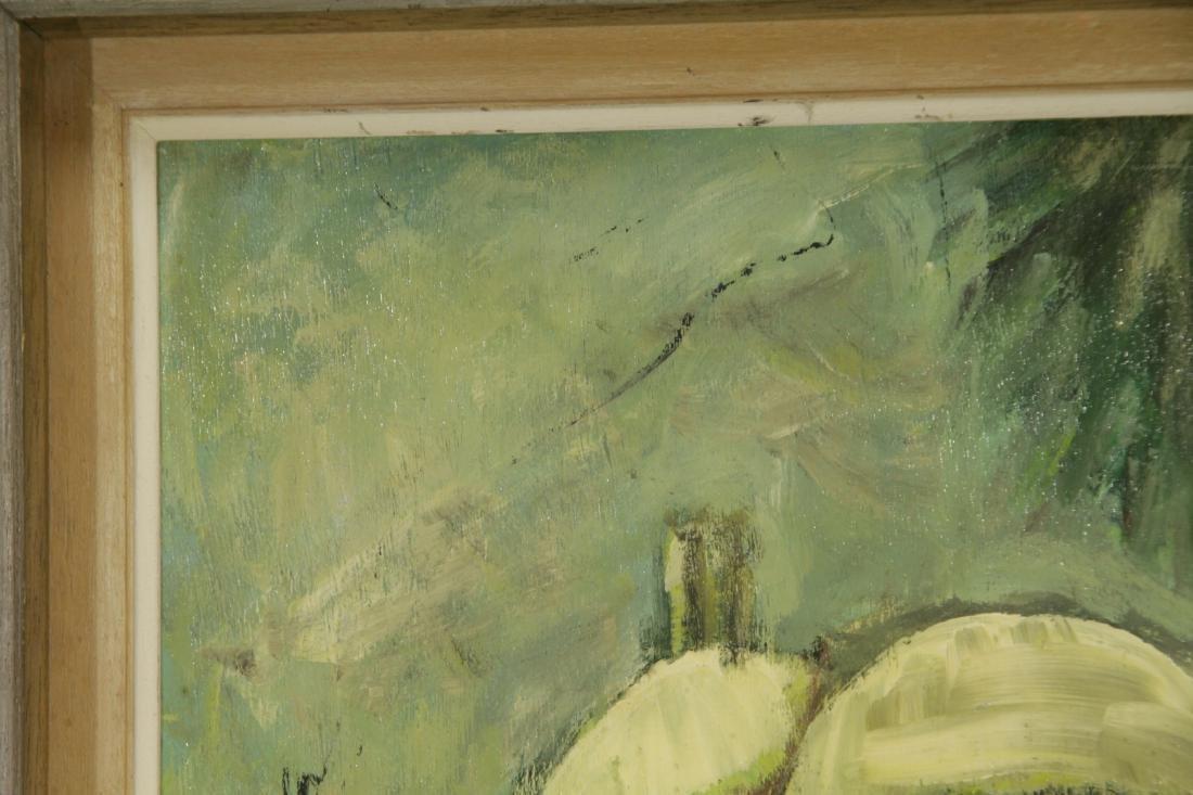 """Oil on Board by """"Mila Laufer"""" Isrealic School, 197 - 2"""
