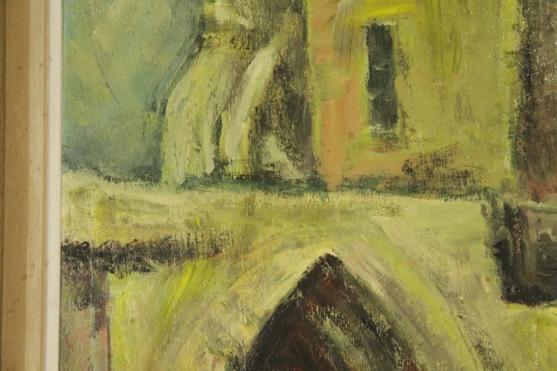 """Oil on Board by """"Mila Laufer"""" Isrealic School, 197 - 5"""