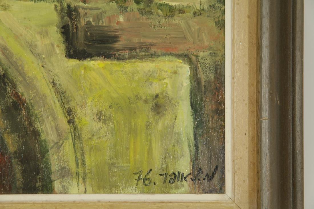 """Oil on Board by """"Mila Laufer"""" Isrealic School, 197 - 6"""
