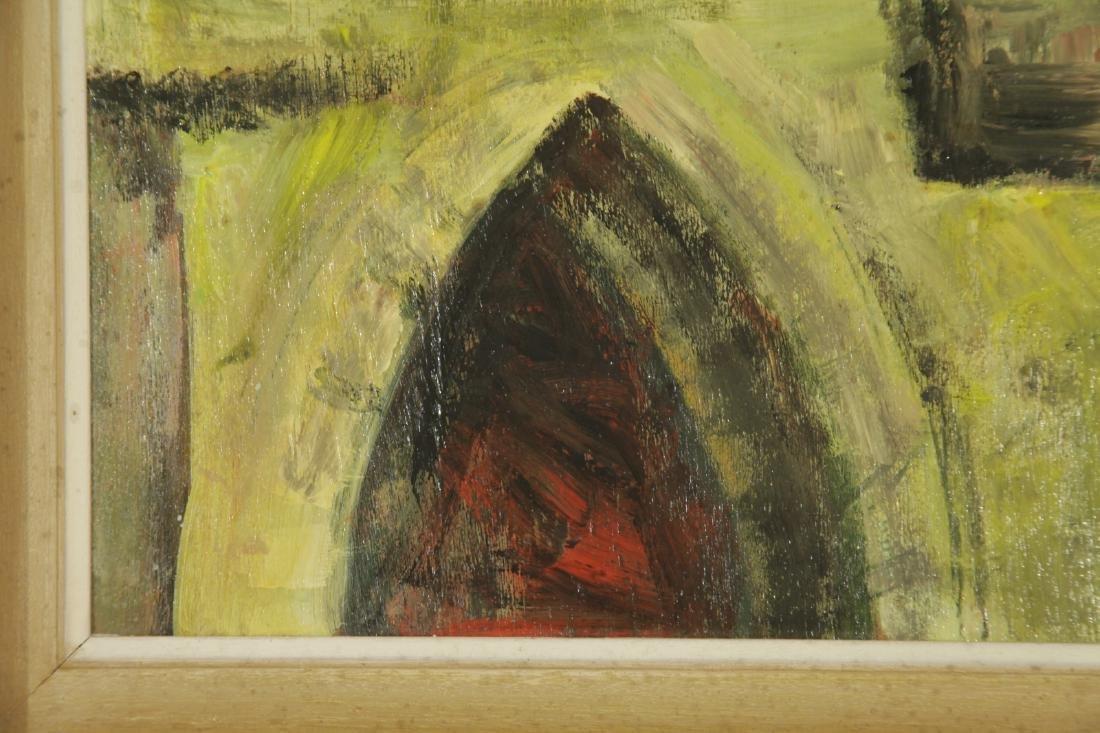 """Oil on Board by """"Mila Laufer"""" Isrealic School, 197 - 7"""