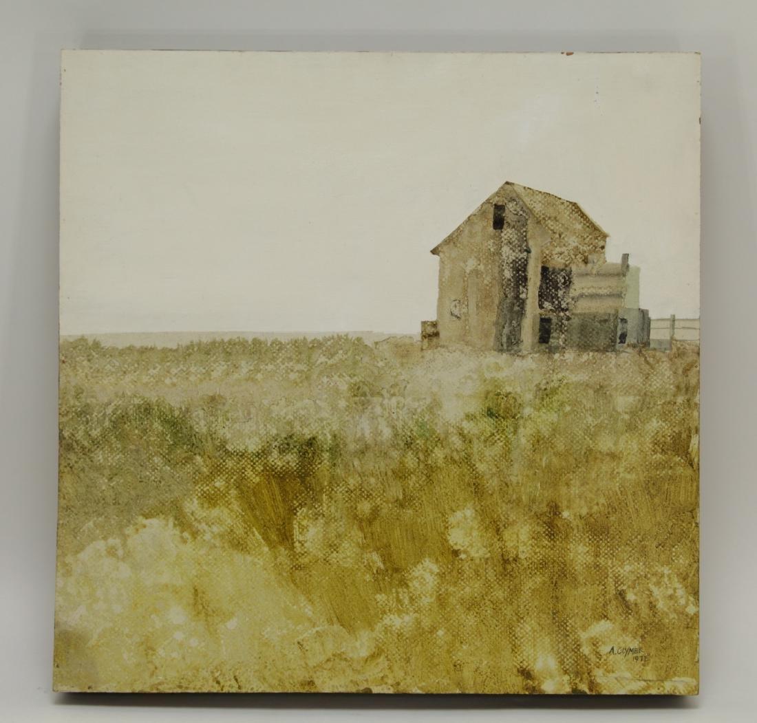 "Oil on Wood, by ""Albert Clymer"""