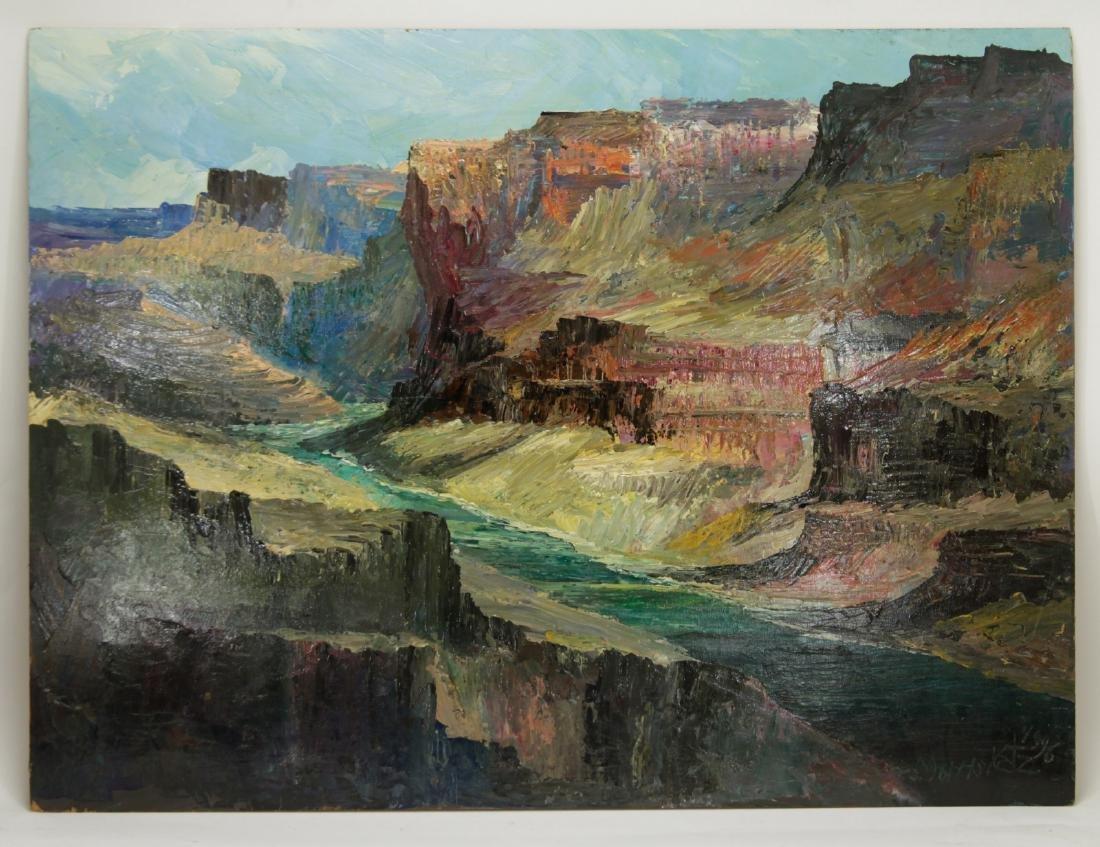 "Large Landscape ""Morris Kalz"", 1996"