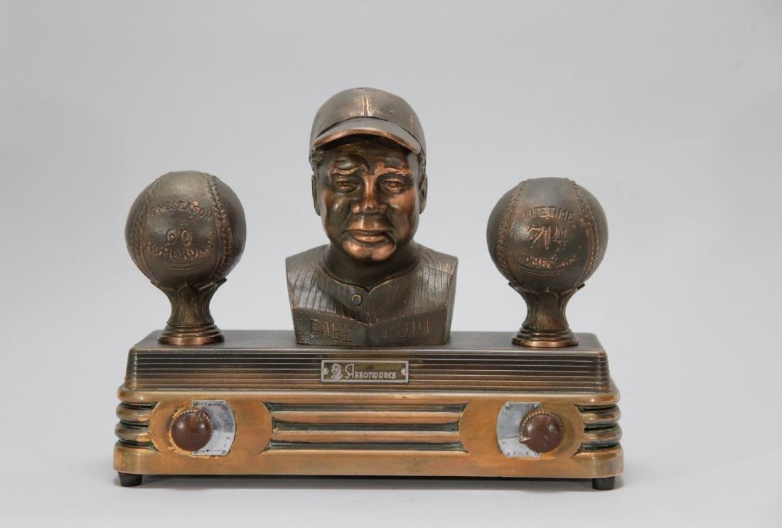 1940's Babe Ruth Baseball Abbot Wares Radio