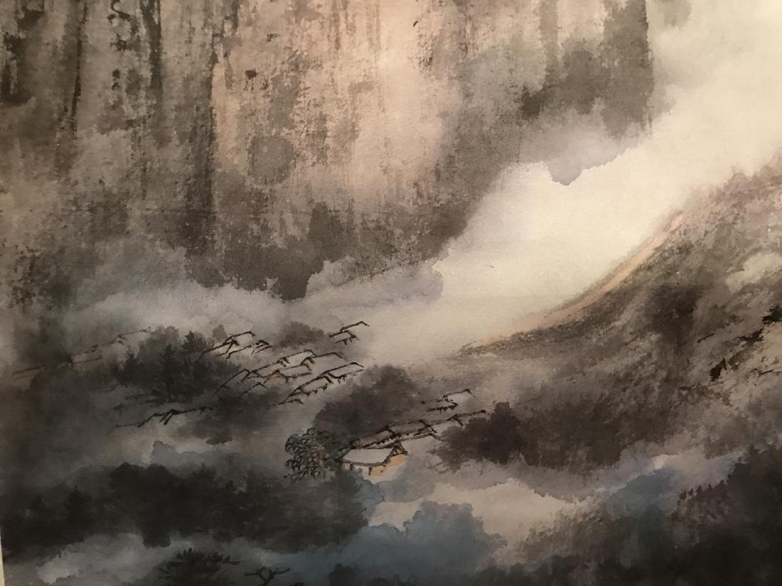 Chinese Ink Scroll PPrinting - 3