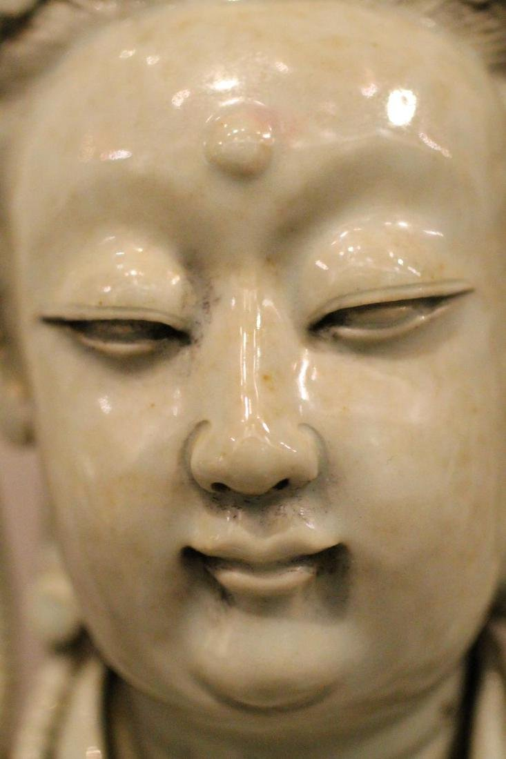A Large Chinese Porcelain Guanyin - 3