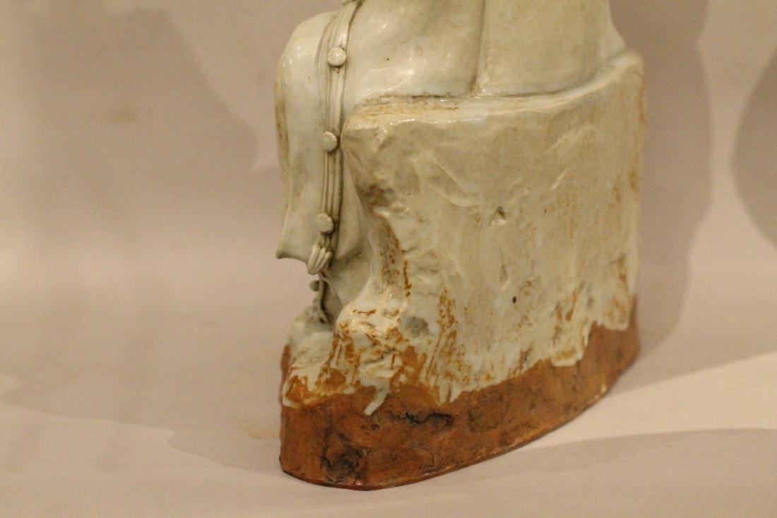 A Large Chinese Porcelain Guanyin - 6