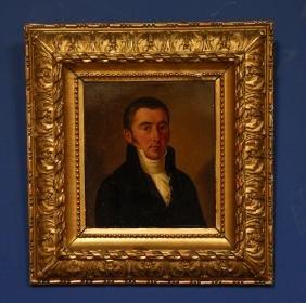 A Portrait Oil Painting on Canvas,