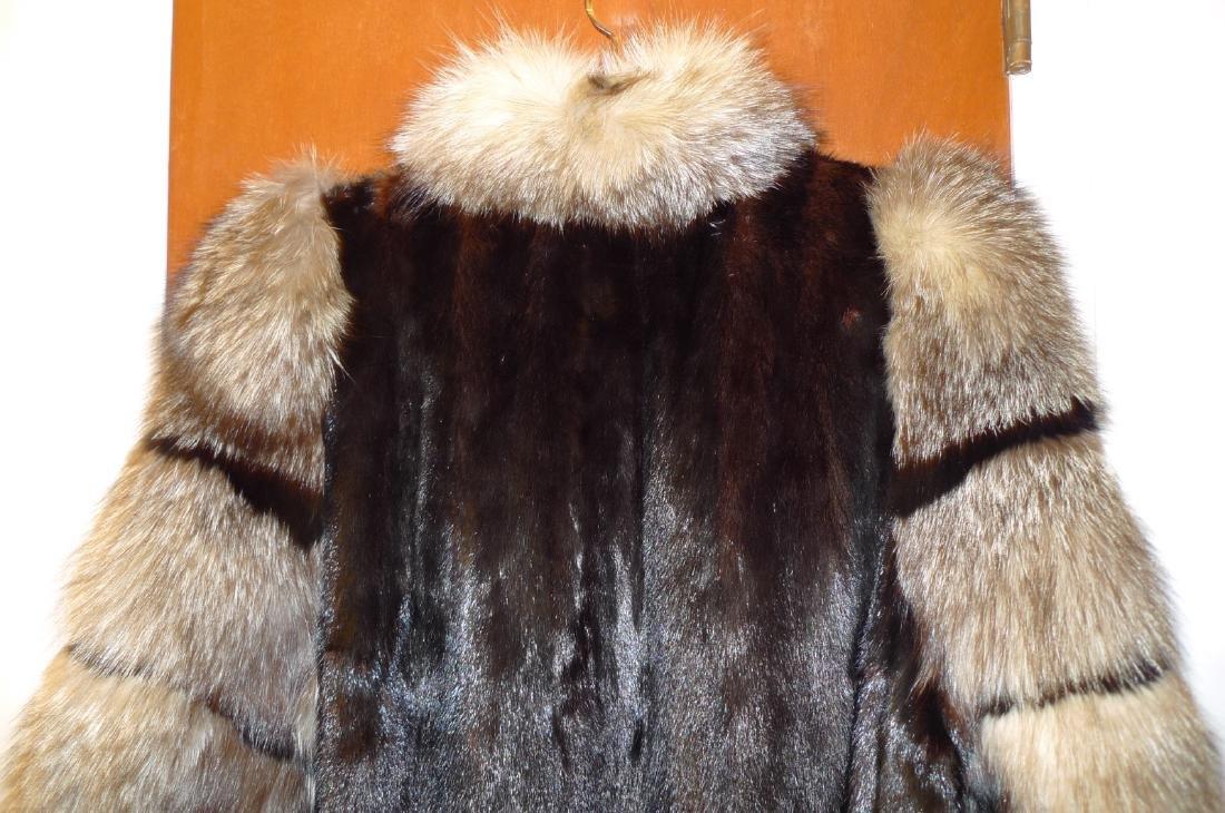 Mink woman's fur coat - 3