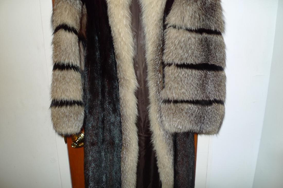 Mink woman's fur coat - 4